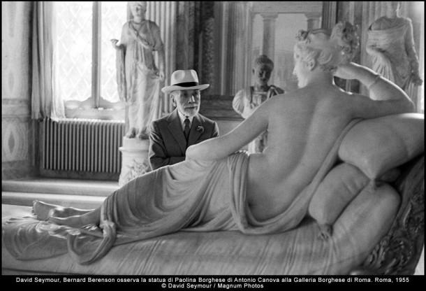 David Seymur - Roma 1955 - Galleria Borghese - Mostra fotografia