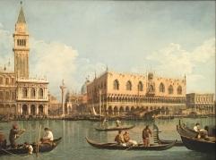 Canaletto - Il bacino di San Marco - Pinacoteca di Brera