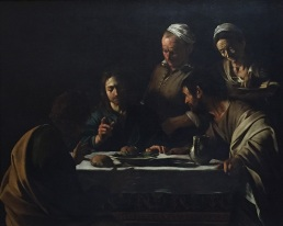 Caravaggio - Cena in Emmaus - Pinacoteca di Brera