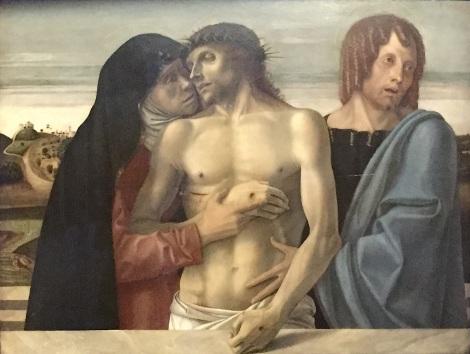 Pinacoteca di Brera - Pietà di Giovanni Bellini