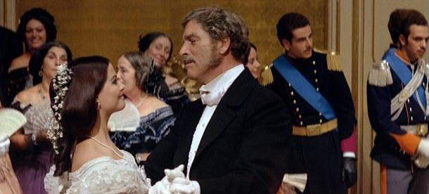 Il Gattopardo di Luchino Visconti - La scena del ballo con Claudia Cardinale e Burt Lancaster