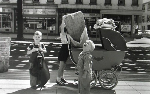 New-York-NYSeptembre-1953 - © Vivian Maier/Maloof Collection, Courtesy Howard Greenberg - terramatta
