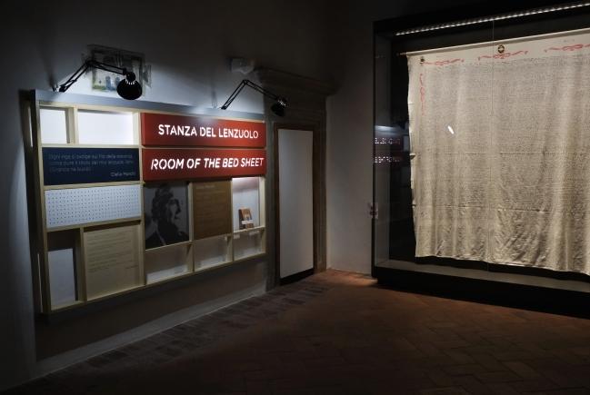Piccolo museo del diario - Stanza del Lenzuolo (Foto di ©Luigi Burroni)