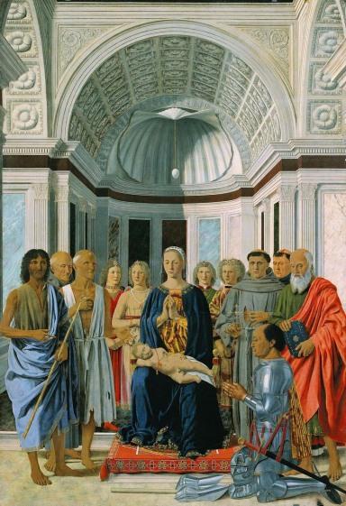 Pala di Brera (o Pala Montefeltro) | Pinacoteca di Brera