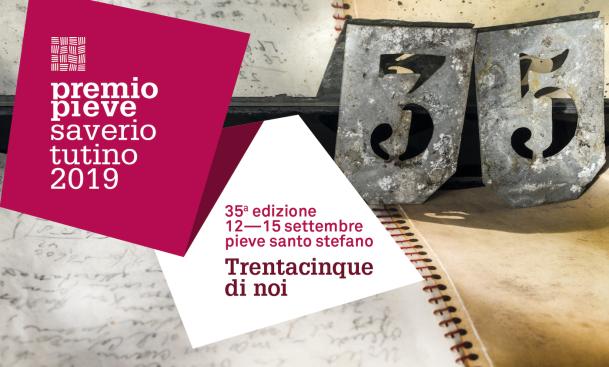 Premio Pieve Saverio Tutino 2019