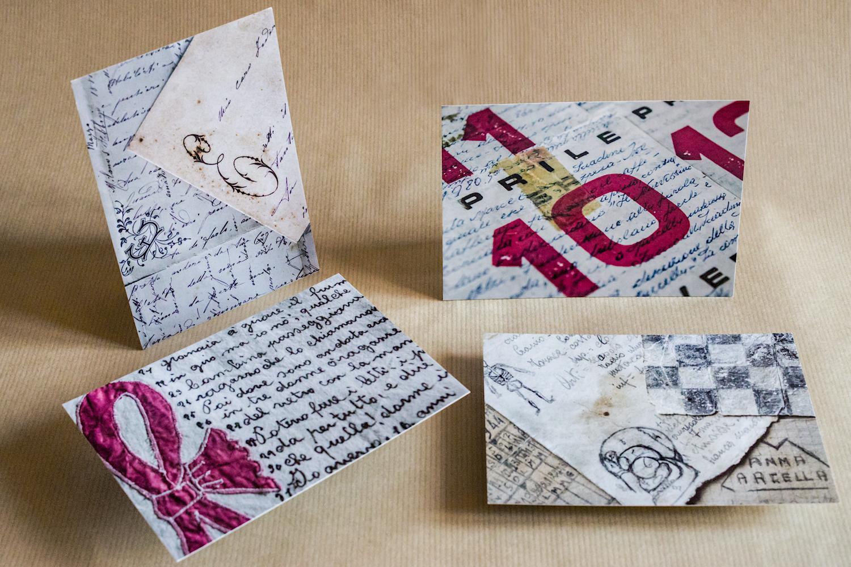 Caro amico ti scrivo | una cartolina dal Piccolo museo del diario - foto di Luigi Burroni